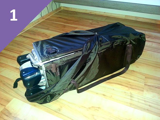 Reisebett-aufbauen-Aufbauanleitung-1.-Schritt