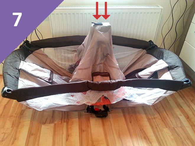 Reisebett-aufbauen-Aufbauanleitung-7.-Schritt