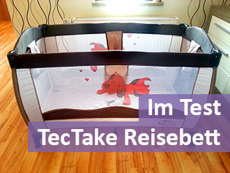 TecTake-Reisebett-Test