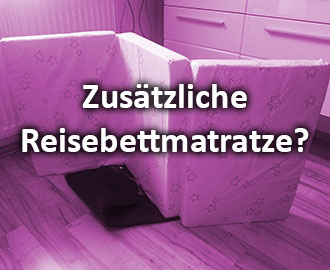 reisebettmatratze brauche ich eine zus tzliche matratze. Black Bedroom Furniture Sets. Home Design Ideas