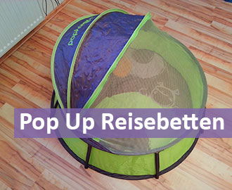 Pop-Up-Reisebett